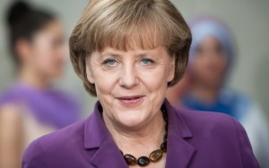 Angela Merkel, German chancellor, keeps a watchful eye on Ireland