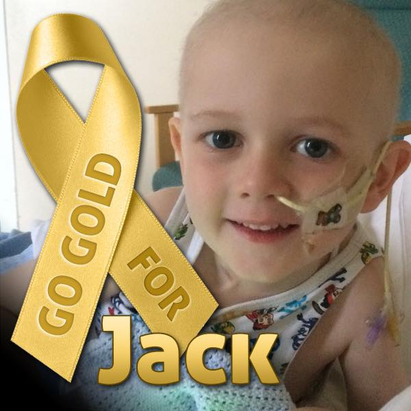 Jack Donaghey, 5, is receiving treatment for leukaemia.