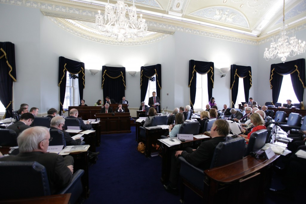 The Seanad by-election will be revealed later today