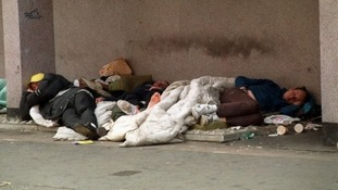 Homelessness is increasing in Ireland.