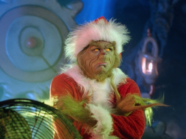 The Grinch. Is this you or your 'loved one'?