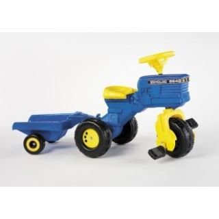 A little tractor just like the one Grainne received that made Christmas so special.