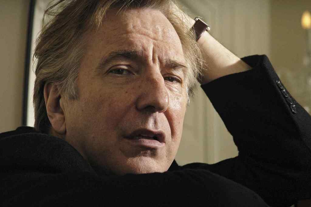 Alan Rickman, died aged 69, yesterday