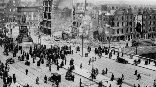 The Easter Rising as it unfolded on Moore Street, Dublin