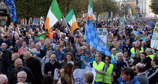 The water charges protest movement has also strengthened the Left.