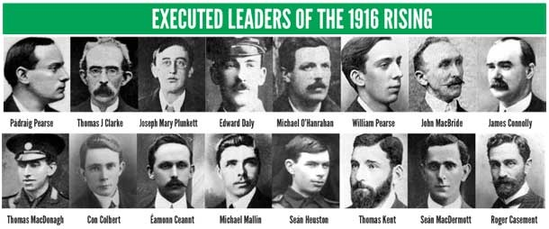 The 1916 Rising Leaders