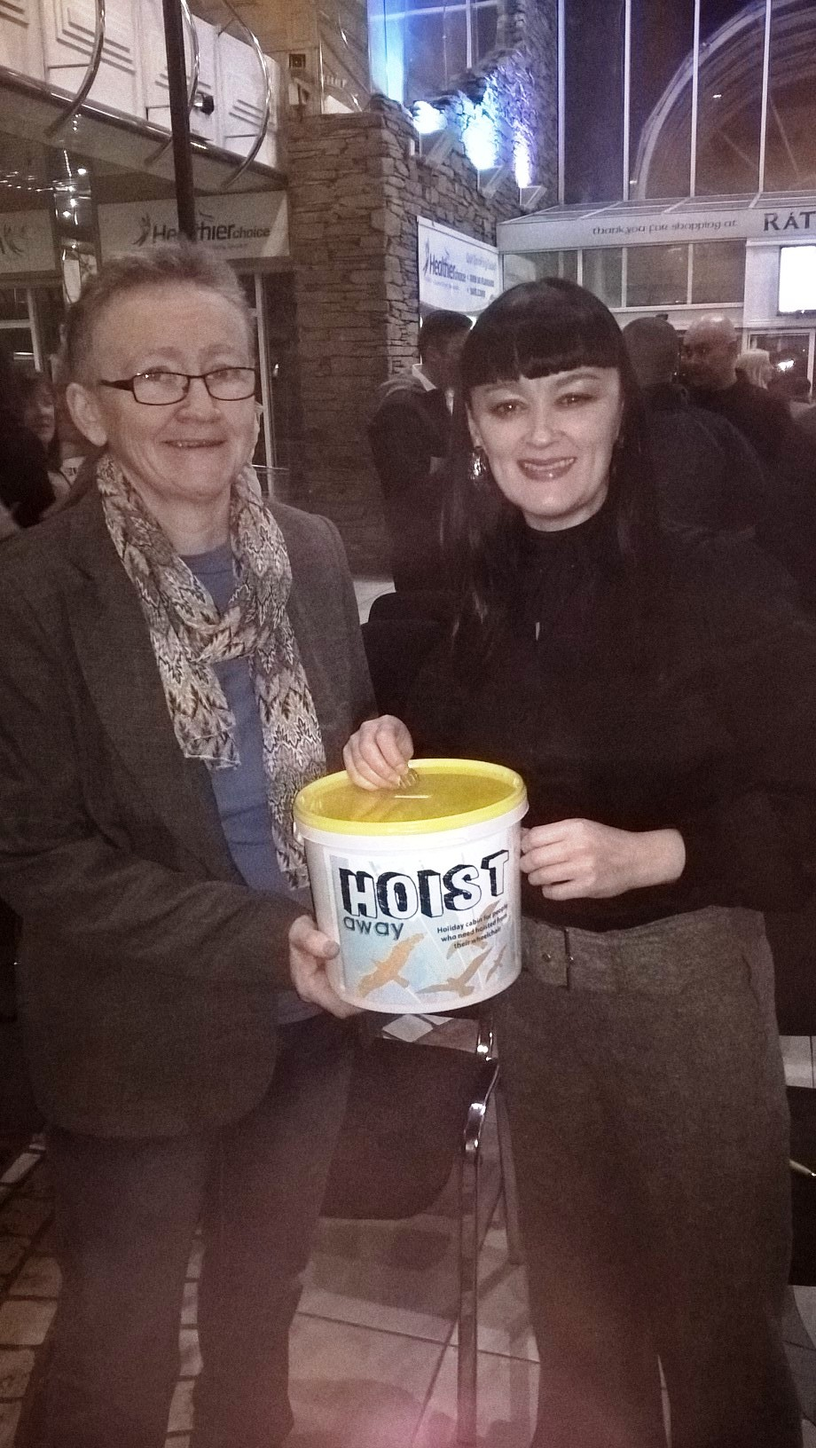 Bronagh Gallagher supporting Hoist Away's Pound Appeal
