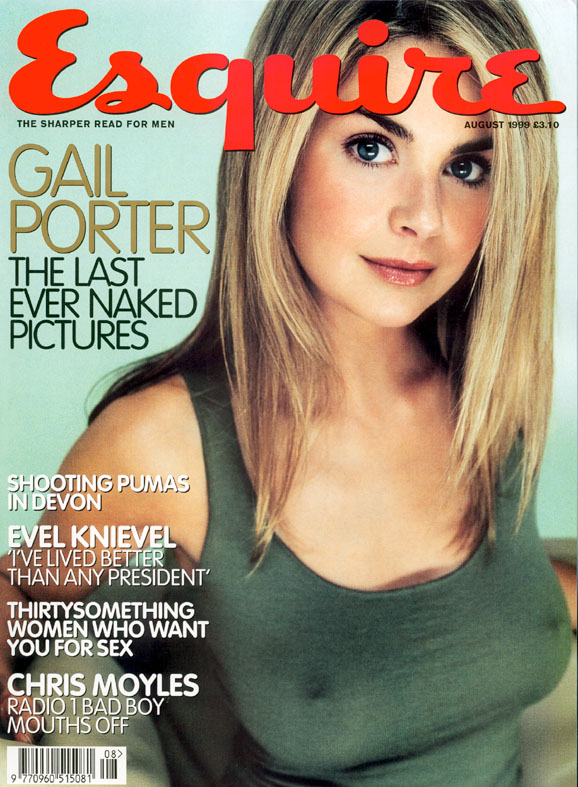 Gail Porter was a sex symbol before losing her hair