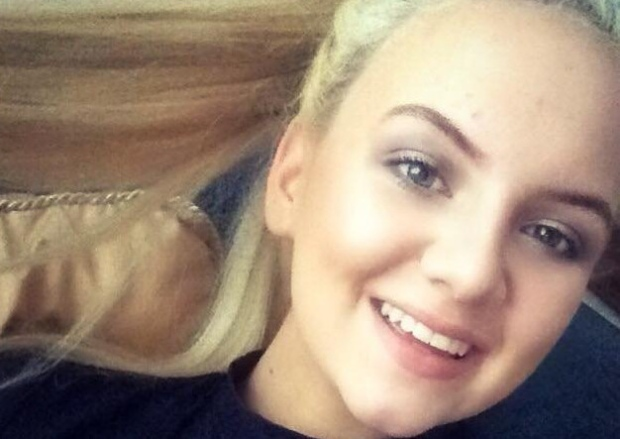 Jodie Lee Daniels, 14, who died tragically in the car with her family