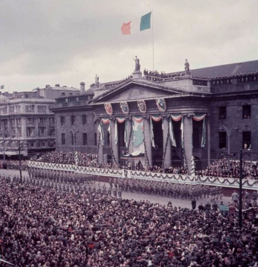 The GPO in Dublin in 1966