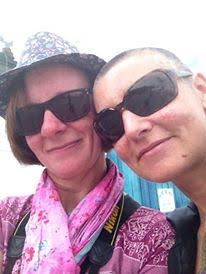 Grainne with Sinead O'Connor