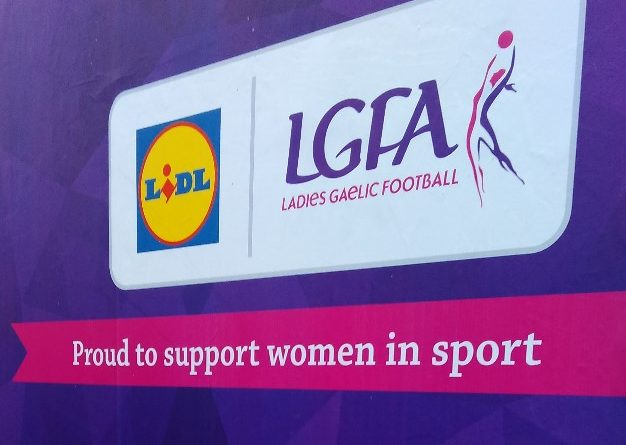 Lidl supporting women in sport poster