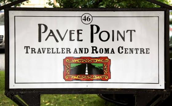 Pavee Point sign