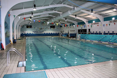 The old Glenalbyn Pool in Stillorgan, which had been located in Stillorgan Village
