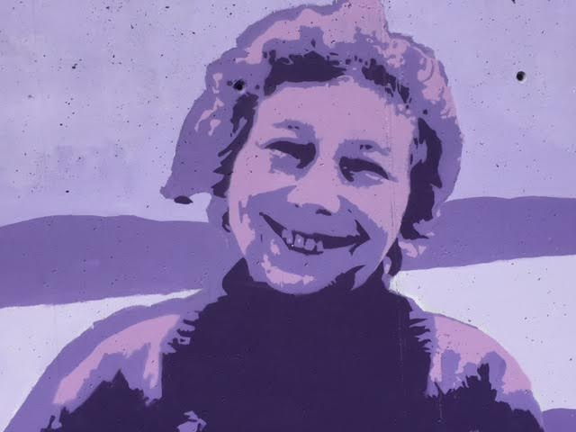 Mabel Colhoun in purple prowess