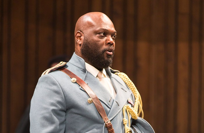 Peter Macon as Othello at the Abbey Theatre, Dublin