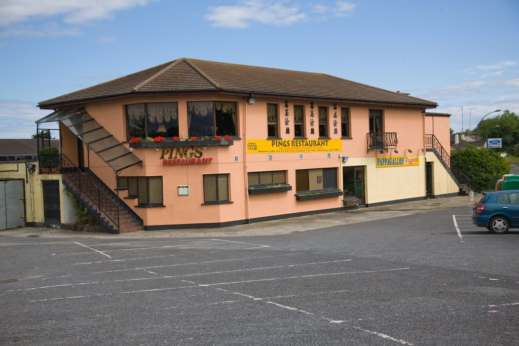 Pings restaurant is on a substantial plot of land in Stillorgan where other businesses were also based.