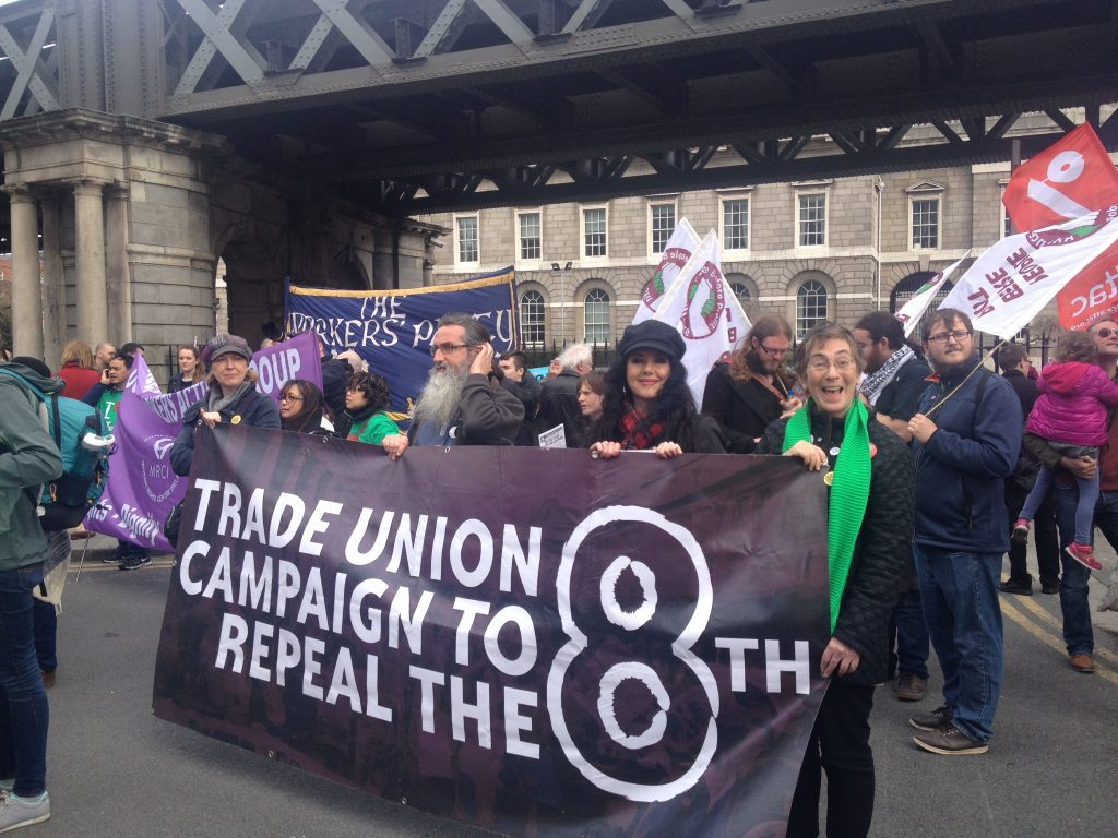 Repeal the 8th campaigners were out marching at the weekend in Dublin