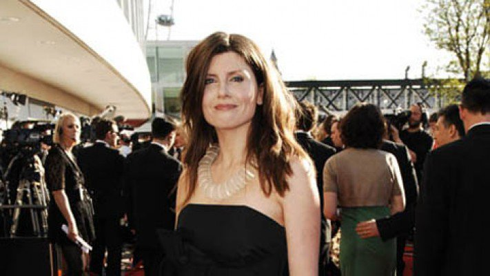 Actress Sharon Horgan looking for from Catastrophic at the Baftas