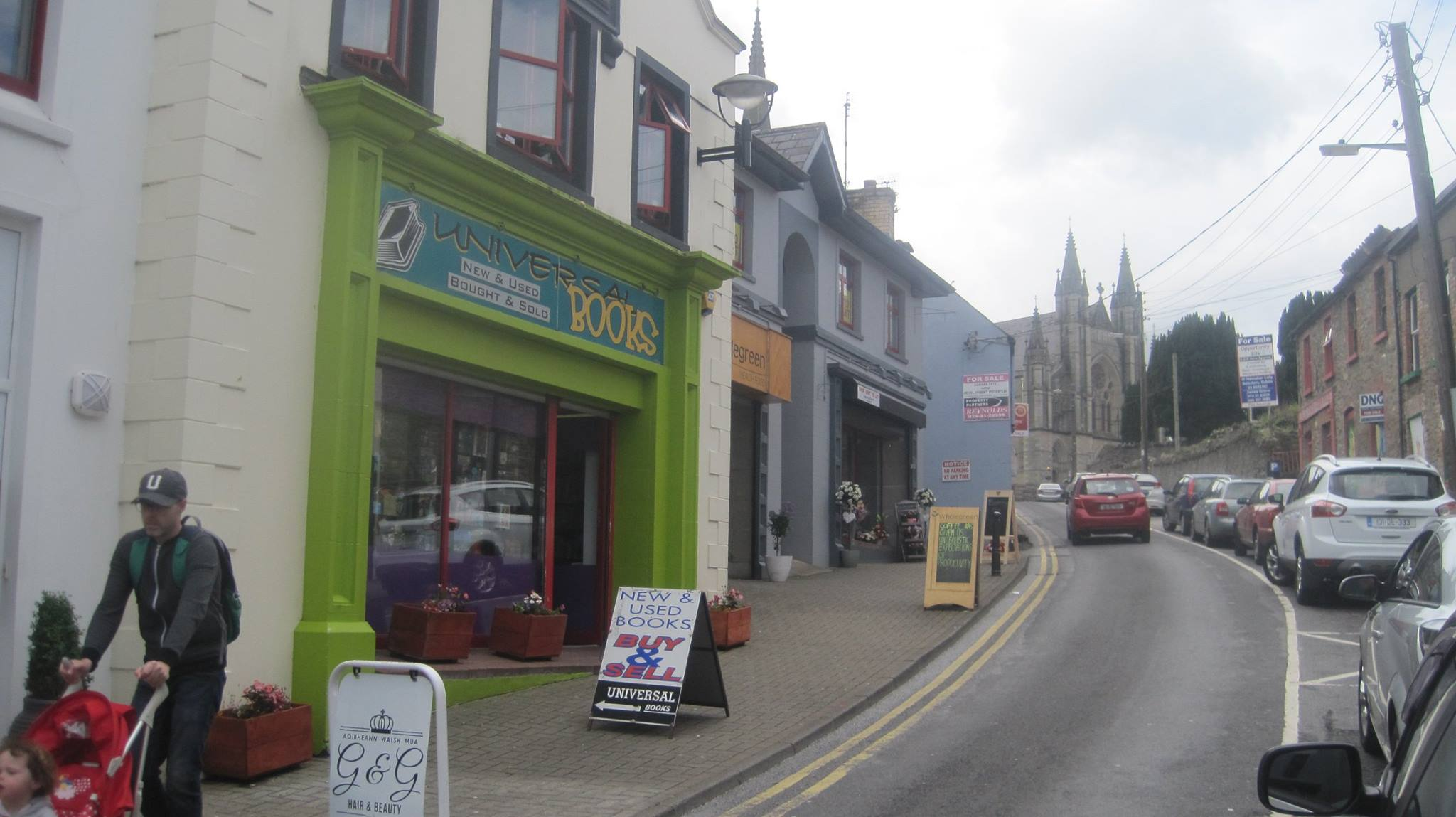 A number of new shops have opened up in Church Lane in Letterkenny's Cathedral Quarter