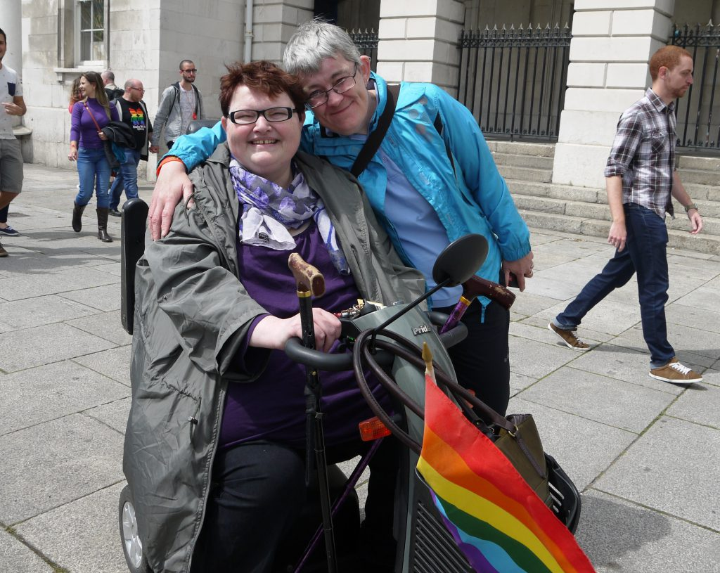 Disabled gay pride