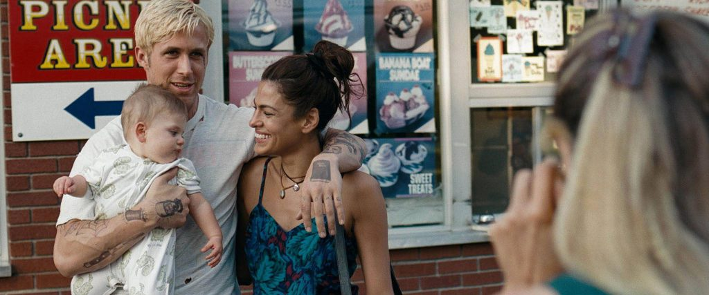 Ryan Gosling starred in The Place Beyond the Pines 2012. Pictured with his wife, also an actress and model.