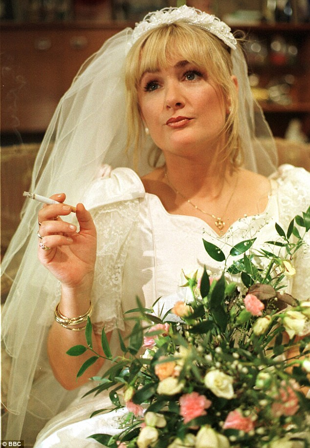 Caroline Aherne as Debbie in her masterpiece, The Royle Family