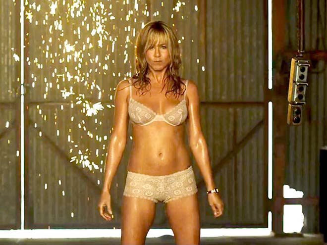 Body beautiful: Jennifer Aniston uses weights to look and feel good