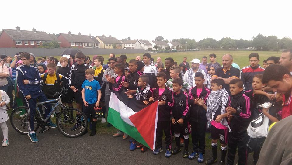 Al Helal FC with Ballybrack FC on a historic day