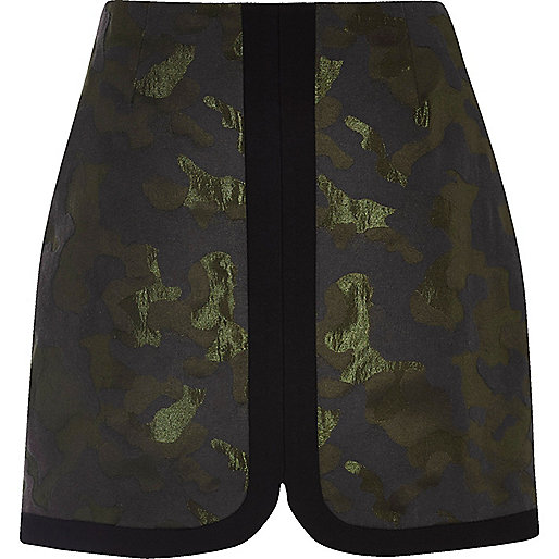 mini skirt camoflauge