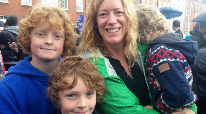 Karen McHugh and family Repeal