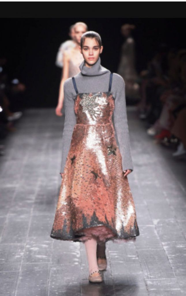 Marni autumn winter sequin