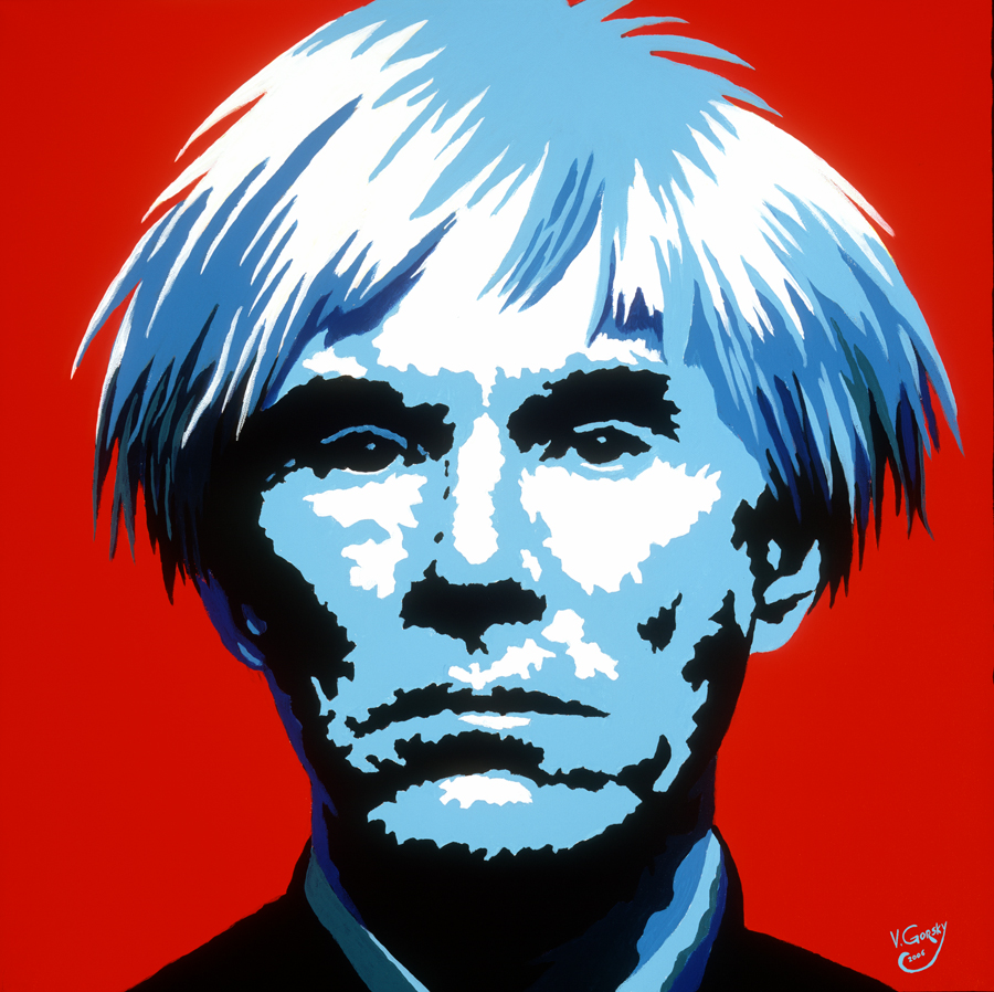 King of Pop art, Andy Warhol