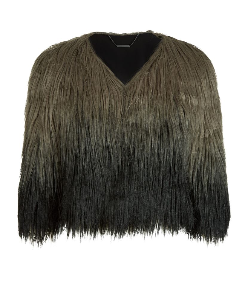 Delma Long Haired Jacket, Elie Tahari; €358 Harrods https://goo.gl/s43p12