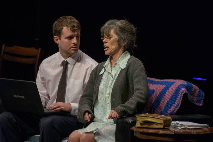 Anne Gallagher and Michael Devlin star in Waving not Drowning