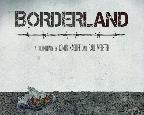 Borderland poster by John Rooney