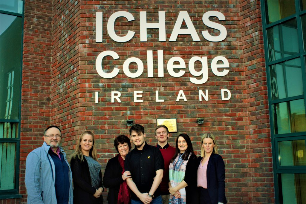 Lloyd at college in Limerick