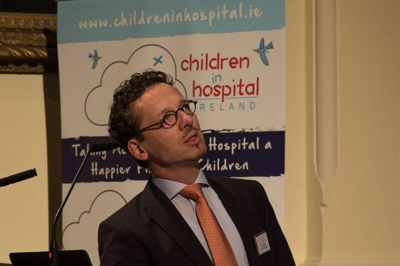 Dr Piet Leroy is trying to make hospitals more child-friendly