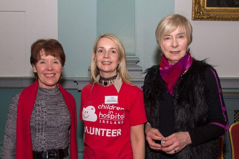 Carmel Conaty, Joyce Rubotham (centre) and Mary Kelly
