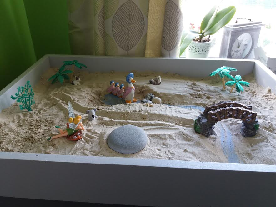Caitriona's sandplay masterpiece
