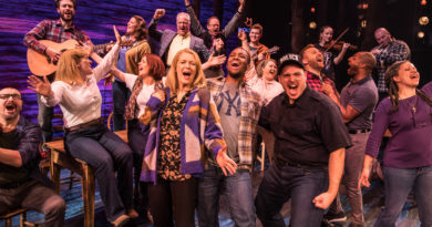 Musical theatre Christmas party with Come From Away at the Abbey Theatre